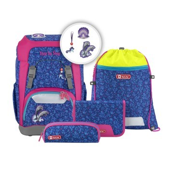Schulrucksack-Set Step by Step Giant Happy Dolphins 5tlg.