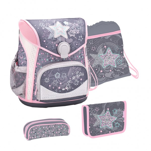 Schulranzen-Set 4tlg. Belmil Cool Bag Shine Like a Star