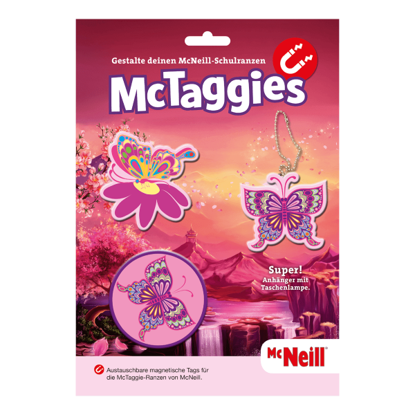 McTaggies Butterfly 3tlg. Set