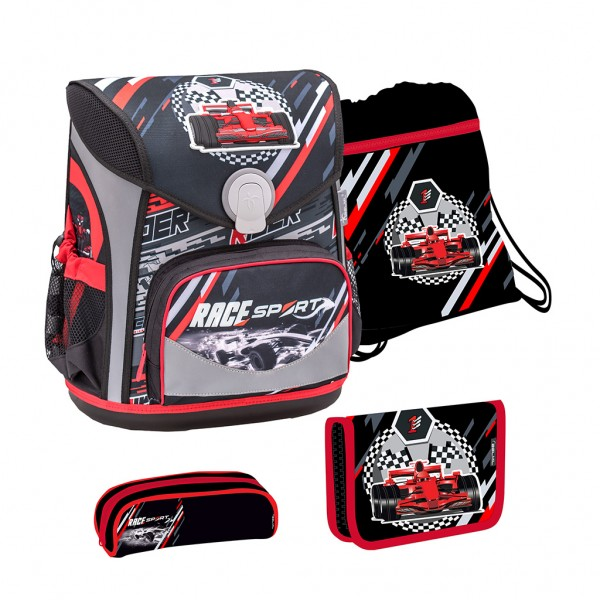 Schulranzen-Set 4tlg. Belmil Cool Bag Racing Sport